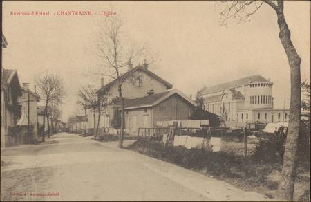 Environs d'Épinal, Chantraine, L'Église