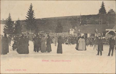 Épinal, On patine à Chantraine