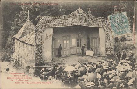 Gérardmer, Théâtre populaire du Saut des Cuves […]