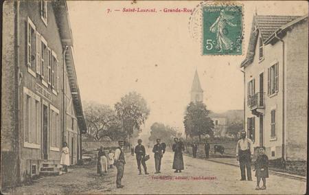 Saint-Laurent, Grande-Rue