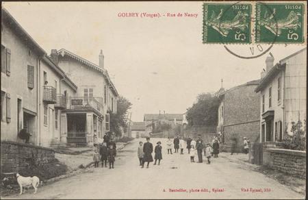 Golbey (Vosges), Rue de Nancy