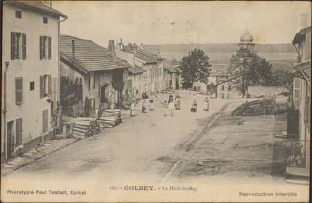 Golbey, Le Haut-du-Roc