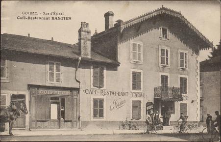 Golbey, Rue d'Épinal, Café-Restaurant Bastien
