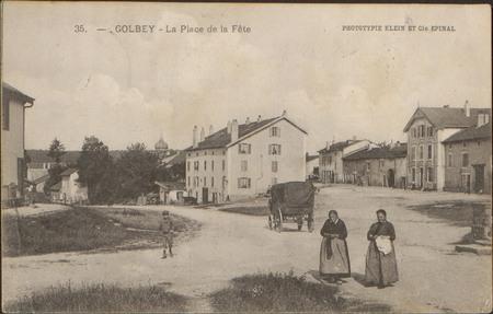 Golbey, La Place de la Fête