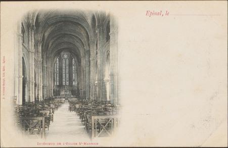 Intérieur de l'Église St-Maurice