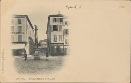 Épinal, Monument Pineau