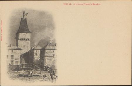 Épinal, Ancienne Porte du Boudiou