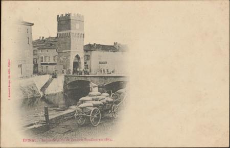 Épinal, Reconstitution de l'ancien Boudiou en 1864