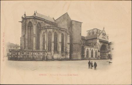Épinal, Église St-Maurice (Côté Nord)
