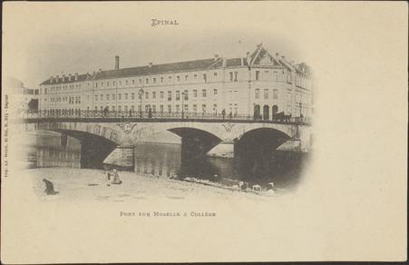 Épinal, Pont sur Moselle & Collège