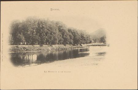 Épinal, La Moselle & le Cours