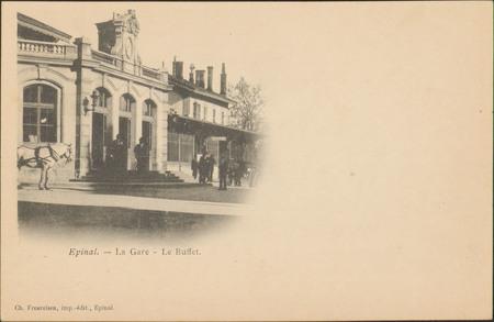 Épinal, La Gare, Le Buffet
