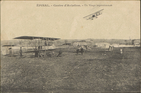 Épinal, Centre d'Aviation, Un Virage impressionnant