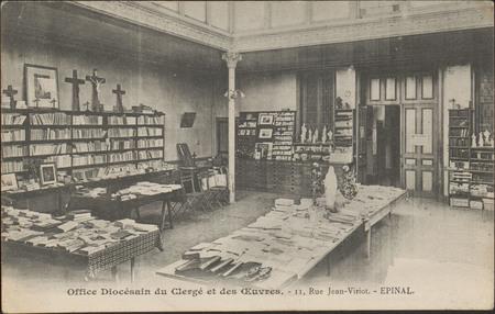 Office Diocésain du Clergé et des Œuvres, 11, Rue Jean-Viriot, Épinal