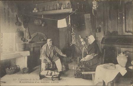 IIIe Exposition de la Société Vosgienne […], Reconstitution d'un Intérieur…