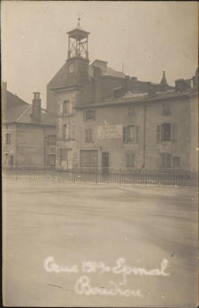 Crue 1919, Épinal, Boudiou