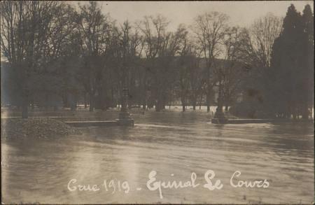 Crue 1919, Épinal, Le Cours