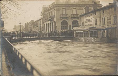 [Crue 1919, Épinal, Canal des Grands Moulins]