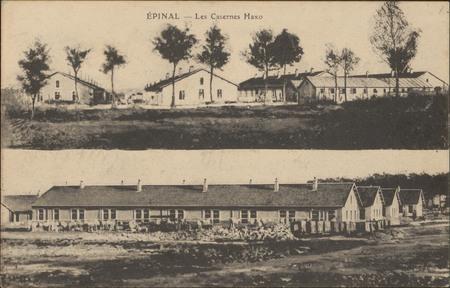 Épinal, Les Casernes Haxo
