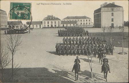 149e Régiment d'Infanterie, le Défilé
