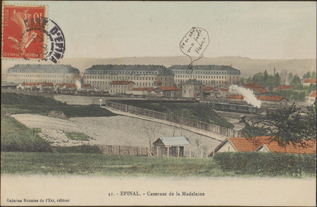Épinal, Casernes de la Madeleine