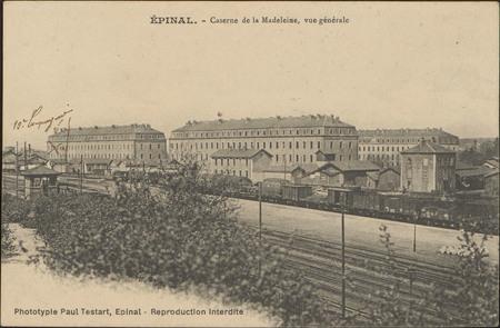 Épinal, Caserne de la Madeleine, Vue générale