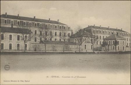 Épinal, Casernes du 4e Chasseurs