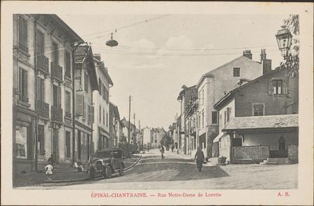 Épinal-Chantraine, Rue Notre-Dame de Lorette