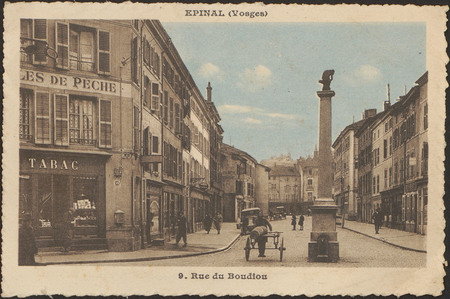 Épinal (Vosges), 9 rue du Boudiou