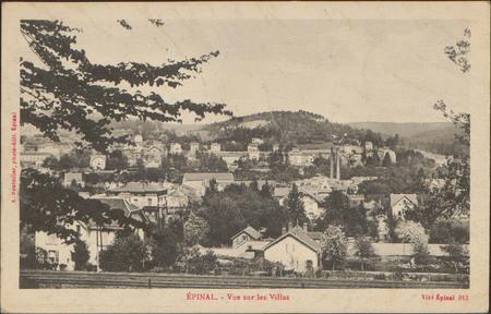 Épinal, Vue sur les Villes