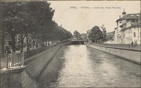 Épinal, Canal des Vieux Moulins
