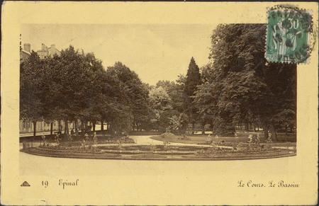Épinal, Le Cours, Le Bassin