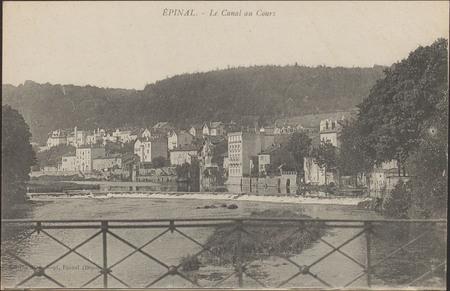 Épinal, Le Canal au Cours
