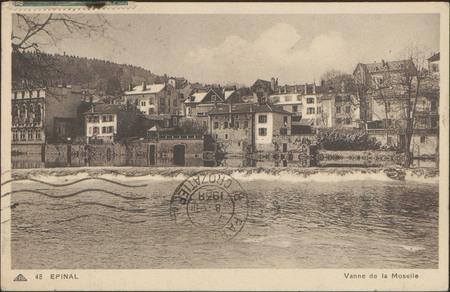 Épinal, Vanne de la Moselle
