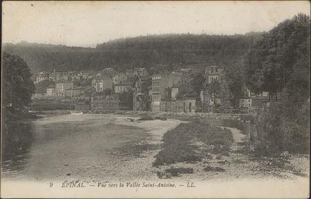 Épinal, Vue vers la Vallée Saint-Antoine