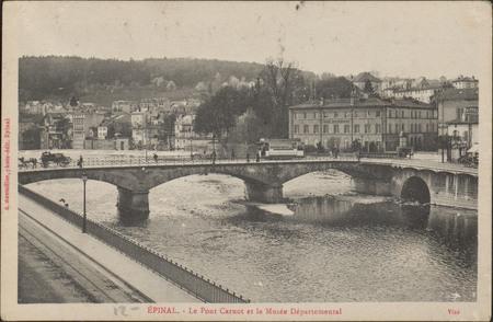 Épinal, Le Pont Carnot et le Musée Départemental