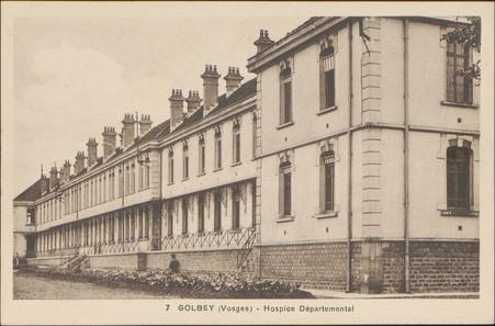 Golbey (Vosges), Hospice Départemental