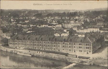 Épinal, Casernes Contades et Petite Ville
