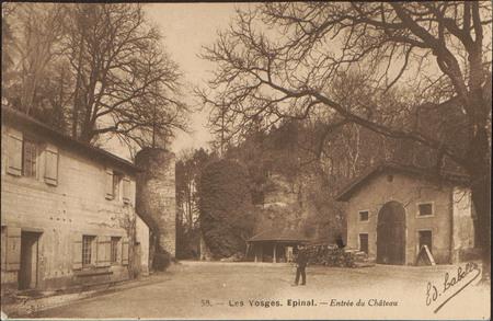 Épinal, Entrée du Château