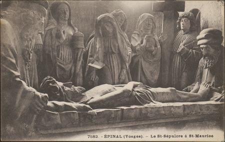 Épinal (Vosges), Le St-Sépulcre à St-Maurice