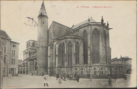 Épinal, L'Église St-Maurice