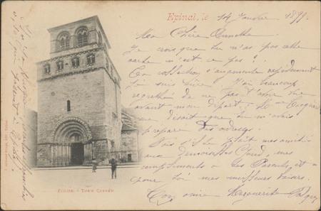 Église, Tour carrée