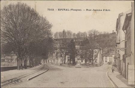 Épinal (Vosges), Rue Jeanne d'Arc