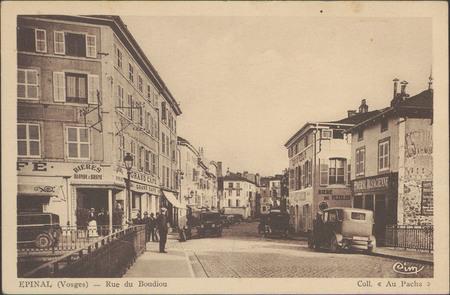 Épinal (Vosges), Rue du Boudiou