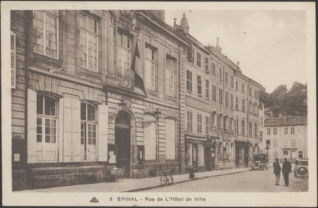 Épinal, Rue de l'Hôtel de Ville