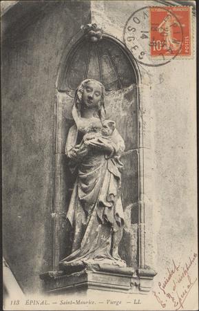 Épinal, Saint-Maurice, Vierge