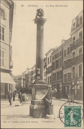 Épinal, La Rue Rualménil