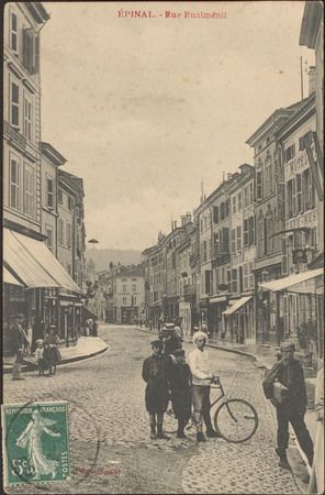 Épinal, Rue Rualménil