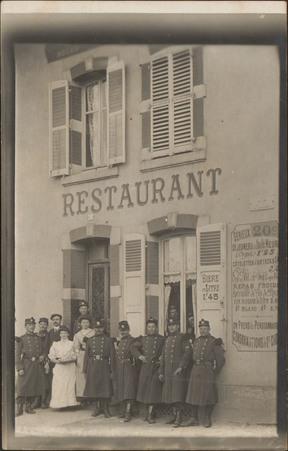 [Épinal, Restaurant Fournier, Rue d'Olima]