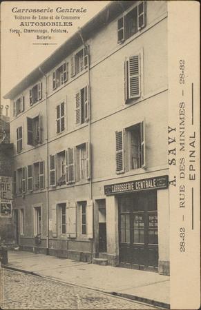 A. Savy, Rue des Minimes, Épinal […]
